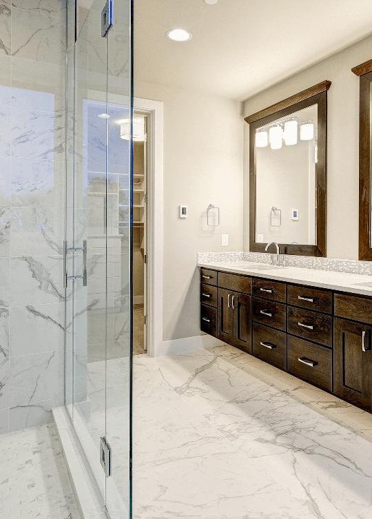 Salles de bain et meubles lavabos boiserie gms for Lavabo sur pied salle de bain